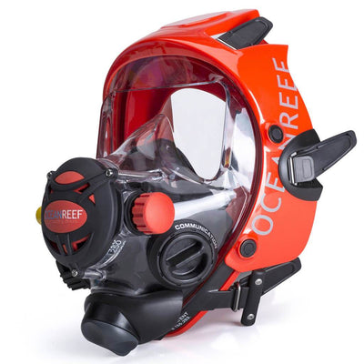 Ocean Reef Space Extender Full Face Dive Mask - Orange - Mike's Dive Store