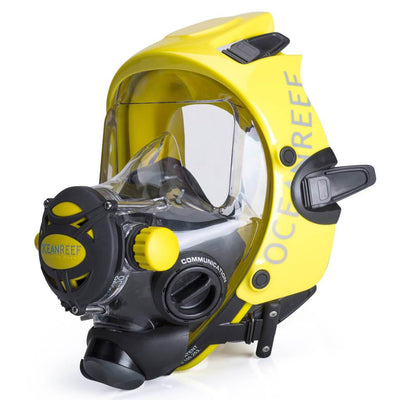 Ocean Reef Space Extender Full Face Dive Mask - Yellow - Mike's Dive Store
