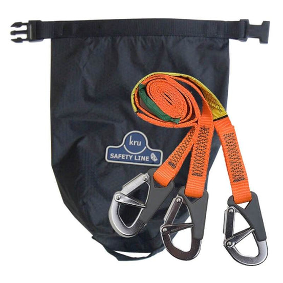 Ocean Safety Kru Safety Line 3 Hook - Mike's Dive Store