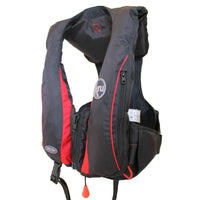 Ocean Safety Kru Sport Pro 185N Lifejacket - Black - Mike's Dive Store