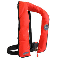 Ocean Safety Kru XS 180N Lifejacket - Red - Mike's Dive Store