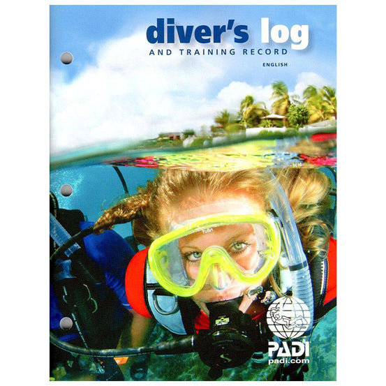 PADI Diver's Log and Training Record - Mike's Dive Store