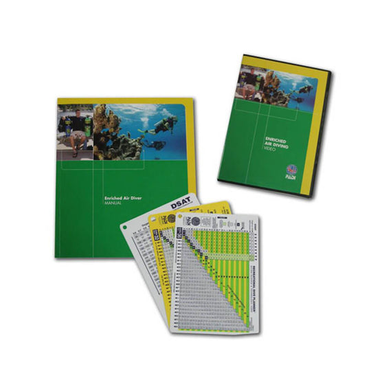 PADI Enriched Air Crew Pack - Table Use with DVD | Mike's Dive Store
