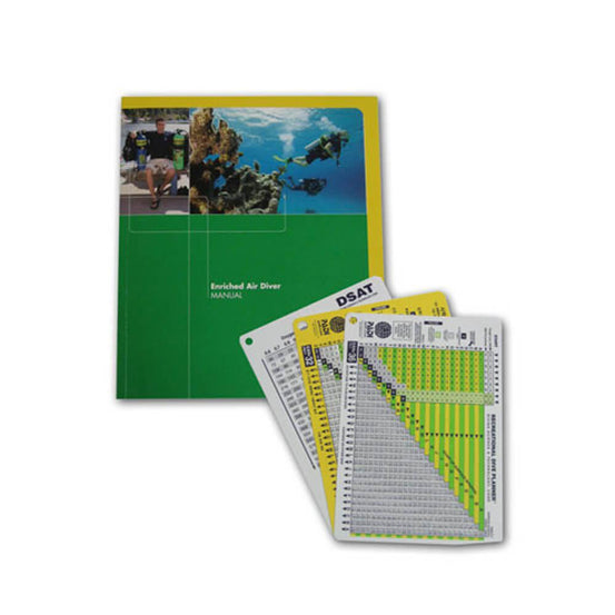 PADI Enriched Air Diver Manual - Metric- with Tables & Booklet | Mike's Dive Store