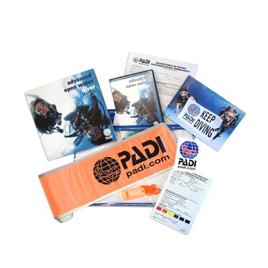 PADI Advanced Open Water Ultimate Crew Pack with SMB and Whistle | Mike's Dive Store