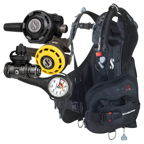 Scubapro MK19 G260 CBT Hydros X Package | Single Gauge | Mike's Dive Store