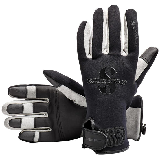 Scubapro Tropic 1.5mm Diving Gloves - Black - Mike's Dive Store