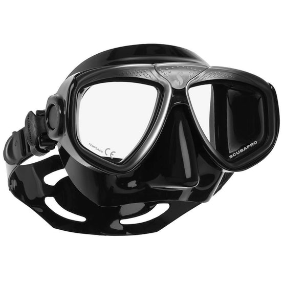 Scubapro Zoom Evo Mask - Silver / Black - Mike's Dive Store