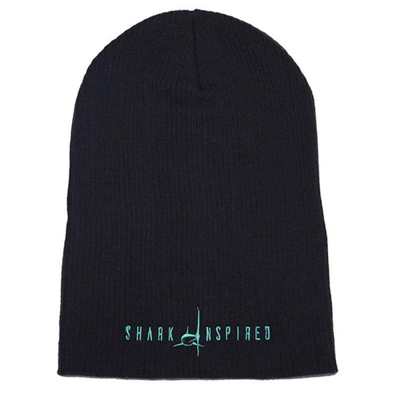 f049a7156f6 Shark Inspired Slouchy Beanie - Mike s Dive Store