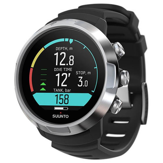 Suunto D5 Steel Dive Computer - Black - Mike's Dive Store