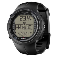Suunto DX Dive Computer All Black - Elastomer - Mike's Dive Store