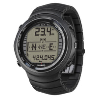 Suunto DX Dive Computer All Black - Titanium - Mike's Dive Store