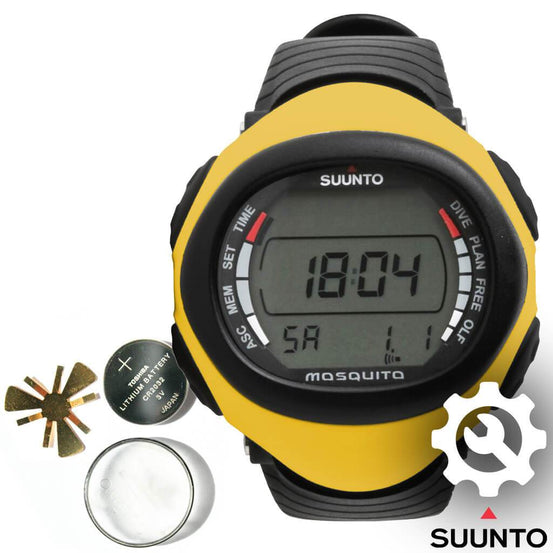 Suunto Mosquito Dive Computer Battery Replacement - Mike's Dive Store