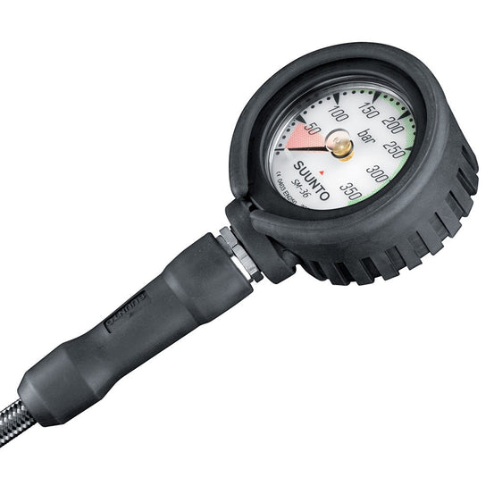 Suunto SM36 300 Pressure Gauge with HP hose - Mike's Dive Store
