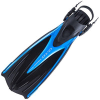 Tusa Imprex Duo Diving Fin - Fishtail Blue - Mike's Dive Store