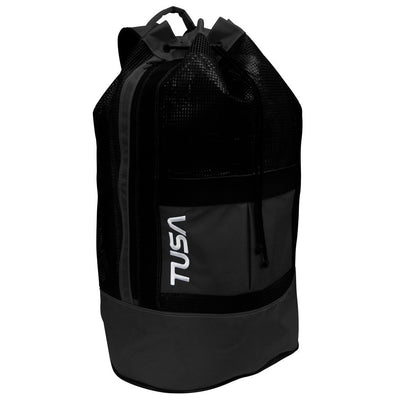 Tusa Mesh Dive Backpack - Black - Mike's Dive Store