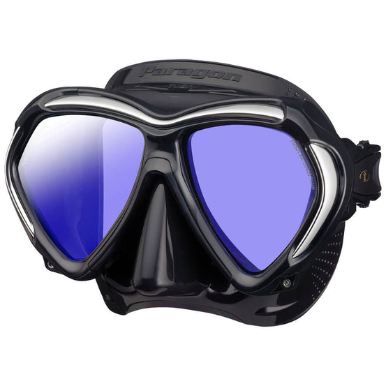 Tusa Paragon Mask - Black - Mike's Dive Store