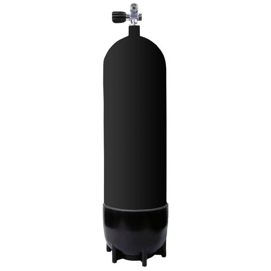 Viktovice 12L 300 Bar Steel Cylinder - Mike's Dive Store
