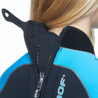 Waterproof W50 5mm Womens Wetsuit - Zip and Neck Closure - Mike's Dive Store