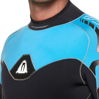 Waterproof W50 5mm Mens Wetsuit - Neck Collar - Mike's Dive Store