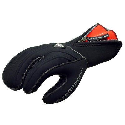 Waterproof G1 7mm 3 Finger Diving Gloves - Mike's Dive Store