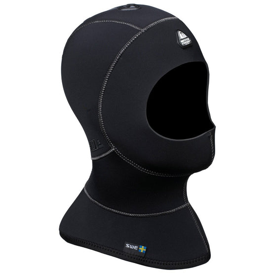 Waterproof H1 3/5mm Bibbed Vented Diving Hood - Mike's Dive Store
