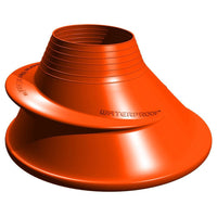 Waterproof Silicone Neck Seal - Orange - Mike's Dive Store