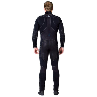 Waterproof W1 5mm Wetsuit Men's - Back - Mike's Dive Store