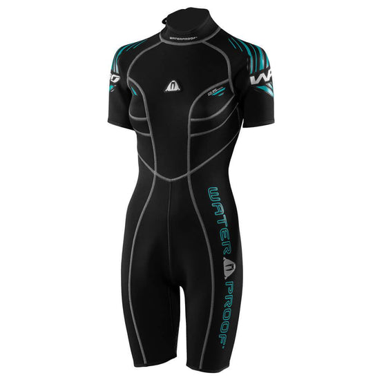 Waterproof W30 2.5mm Shorty Wetsuit Womens 2019 - Mike's Dive Store