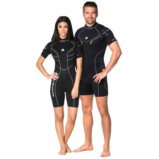 Waterproof W30 2.5mm Wetsuit Shorty Women's - Mike's Dive Store