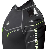 Waterproof W30 2.5mm Wetsuit Men's - Left Shoulder Detail - Mike's Dive Store