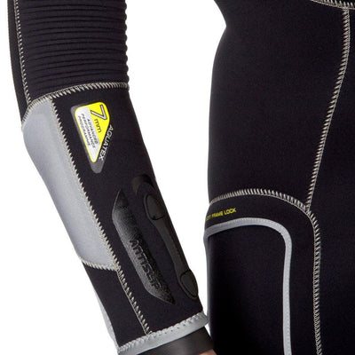 Waterproof W4 7mm Wetsuit Men's - Arm Detail - Mike's Dive Store