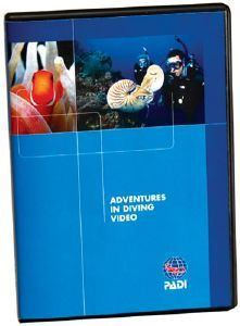 PADI Adventures in Diving DVD - Diver Edition - Mike's Dive Store