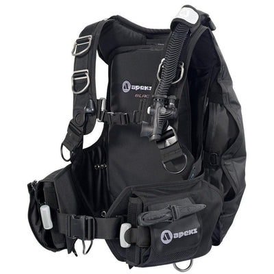 Apeks Black Ice BCD - Left - Mike's Dive Store