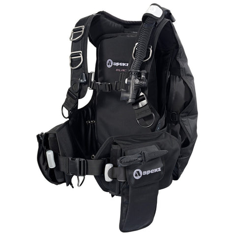 Apeks Black Ice BCD - Extended Pocket - Mike's Dive Store