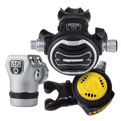 Apeks XTX100 Stage 3 Regulator Set - DIN - Mike's Dive Store