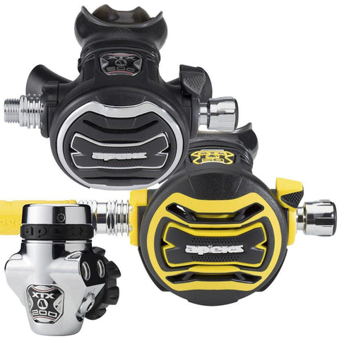 Apeks XTX200 Stage 3 Regulator Set - DIN - Mike's Dive Store