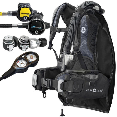 Aqualung Ultralight Mens Travel Package - Mike's Dive Store