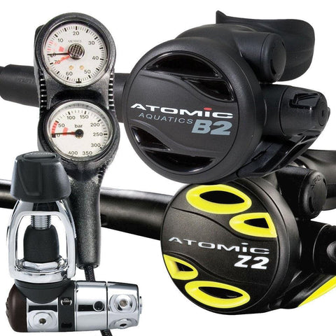 Atomic B2 Regulator, Octopus and Console Package - Mike's Dive Store