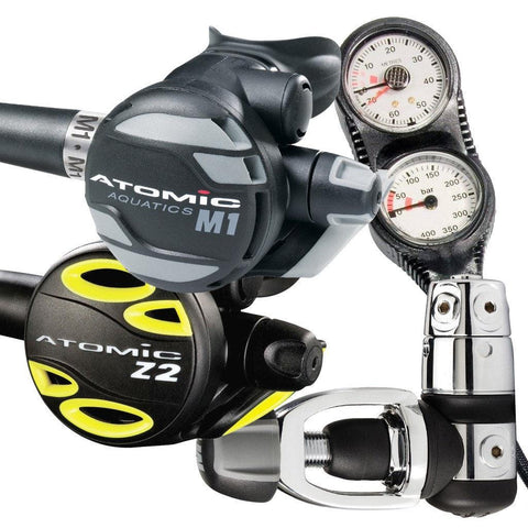 Atomic M1 Regulator Z2 Octopus and Console Package - Mike's Dive Store