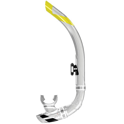 Atomic SV1 Contour Snorkel - Clear / Black - Mike's Dive Store