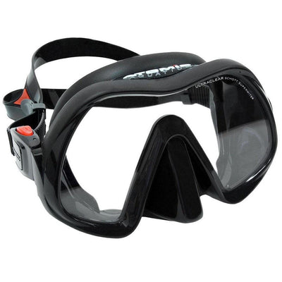 Atomic Venom Frameless Mask - Black - Mike's Dive Store