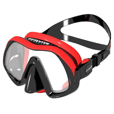 Atomic Venom Frameless Mask - Red - Mike's Dive Store