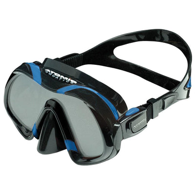 Atomic Venom Dive Mask - Black / Blue - Mike's Dive Store