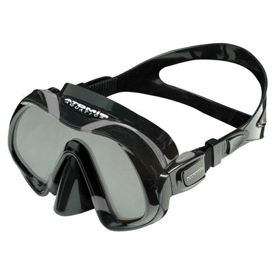 Atomic Venom Dive Mask - Black / Grey - Mike's Dive Store