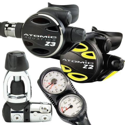 Atomic Z3 Regulator, Octopus & Console Package - Mike's Dive Store