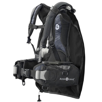 Aqualung Zuma BCD - Midnight / Side - Mike's Dive Store
