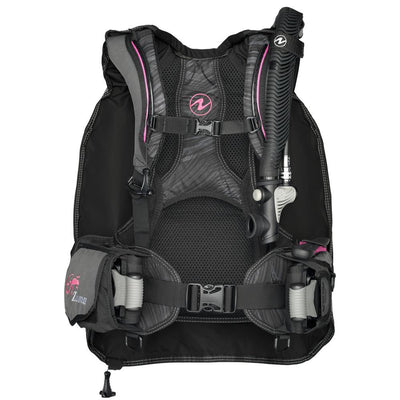 Aqualung Zuma BCD - Pink / Front - Mike's Dive Store