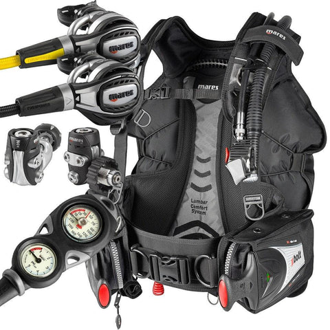 Mares Fusion Regulator and Bolt BCD Package - Mike's Dive Store