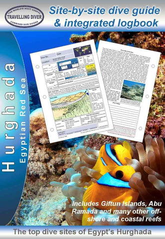 Hurghada - Egyptian Red Sea -Dive Guide & Logbook - Mike's Dive Store